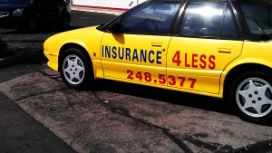 insure 4 less car